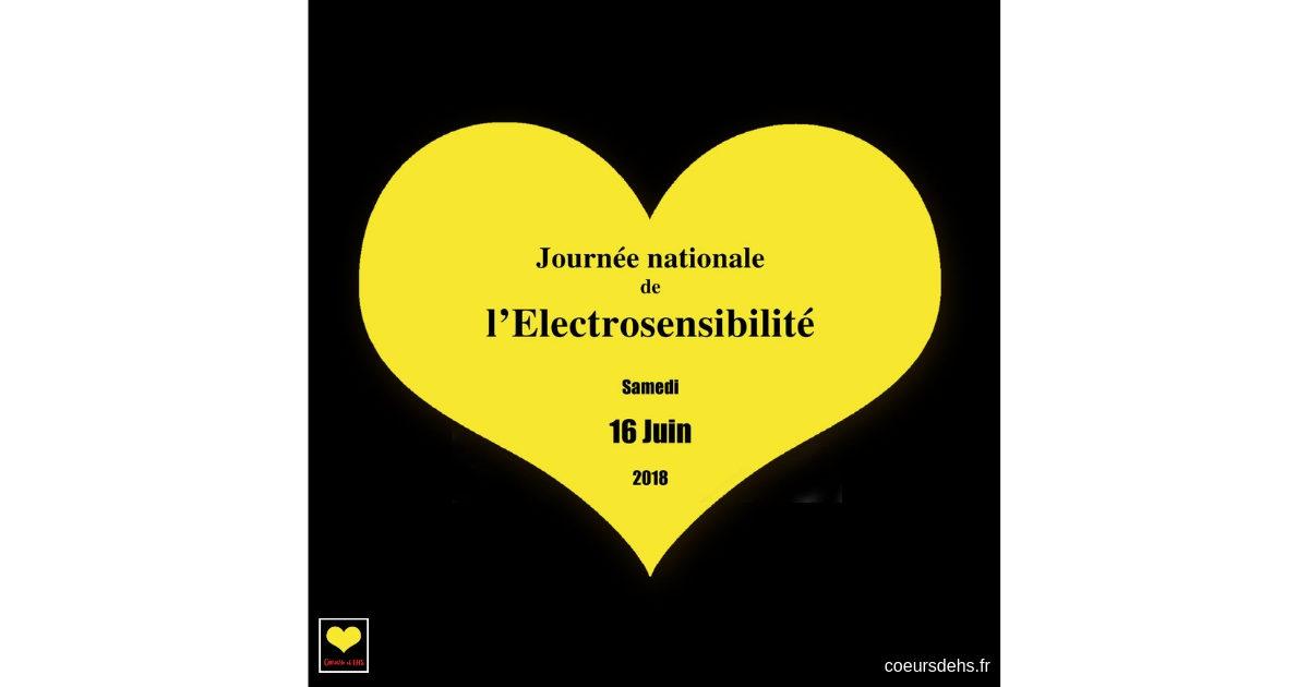 16 Juin 2018 – Compte-rendu de la 1ère Journée Internationale de l'Électrosensibilité