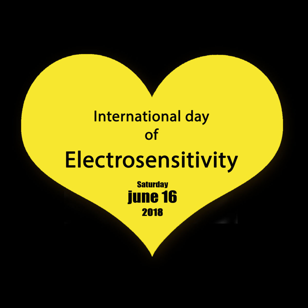 June 16th 2018 : International Day of Electrosensitivity