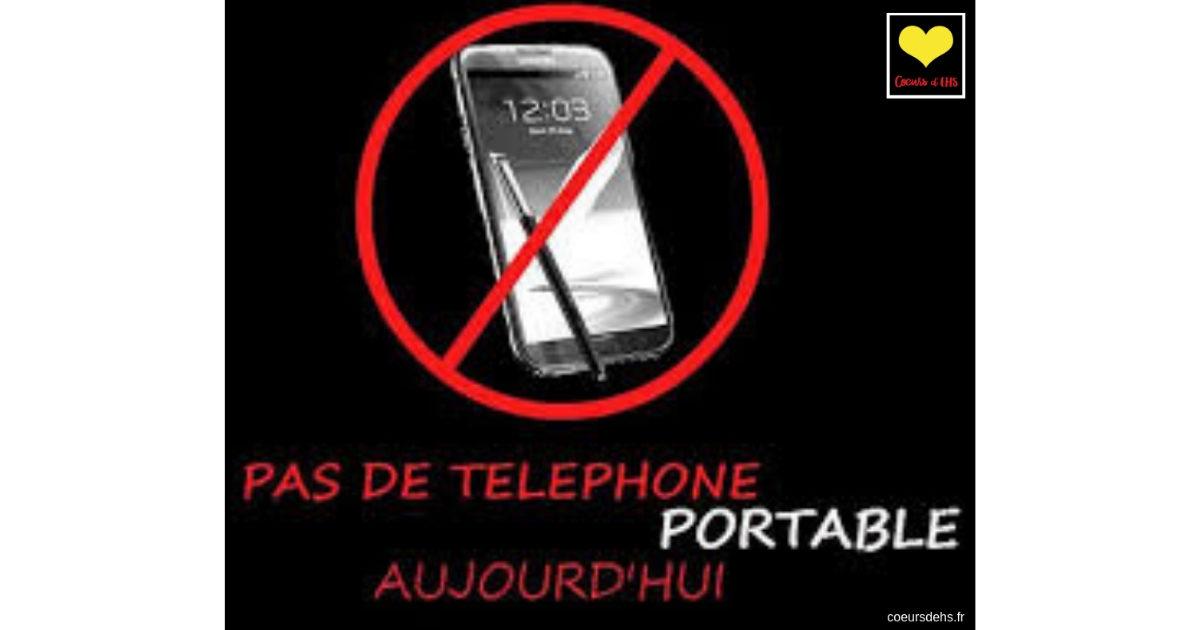 6 Fév. 2019 – Journée mondiale sans portable