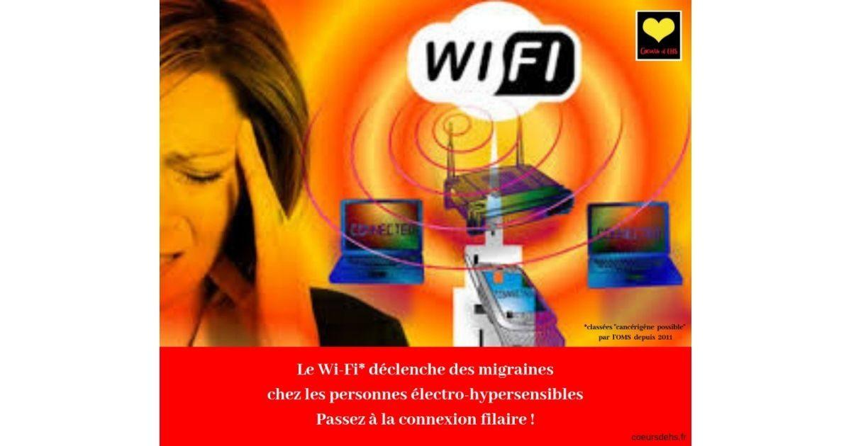 Visuels : Symptômes d'Électro-hypersensibilité