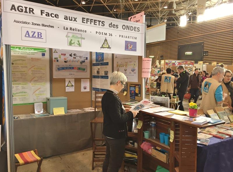 22-23-24 Fév. 2019 – Stand et Ateliers d'information au Salon Primevère, à Lyon (69)