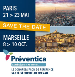 21-22-23 Mai 2019 – Stand et Conférence au Salon Préventica, à Paris (75)