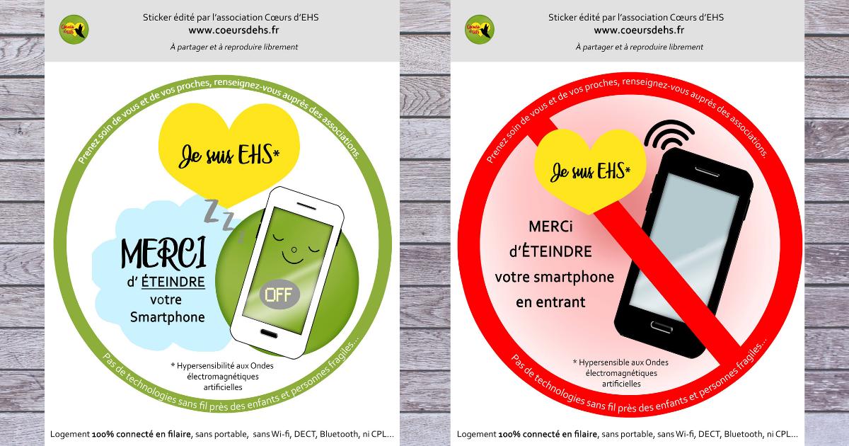 Visuels : Merci d'éteindre votre Smartphone