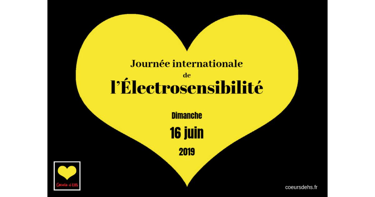 16 Juin 2019 – Lancement de la 2ème Journée internationale de l'Électrosensibilité
