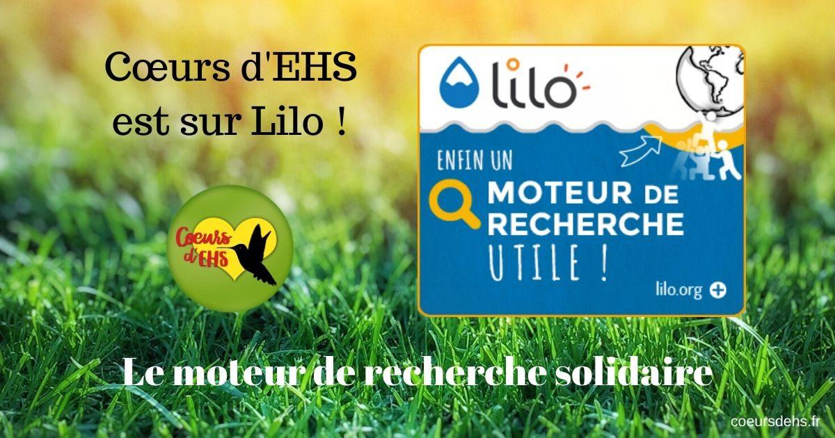 Soutenir Cœurs d'EHS avec Lilo – Mode d'emploi !