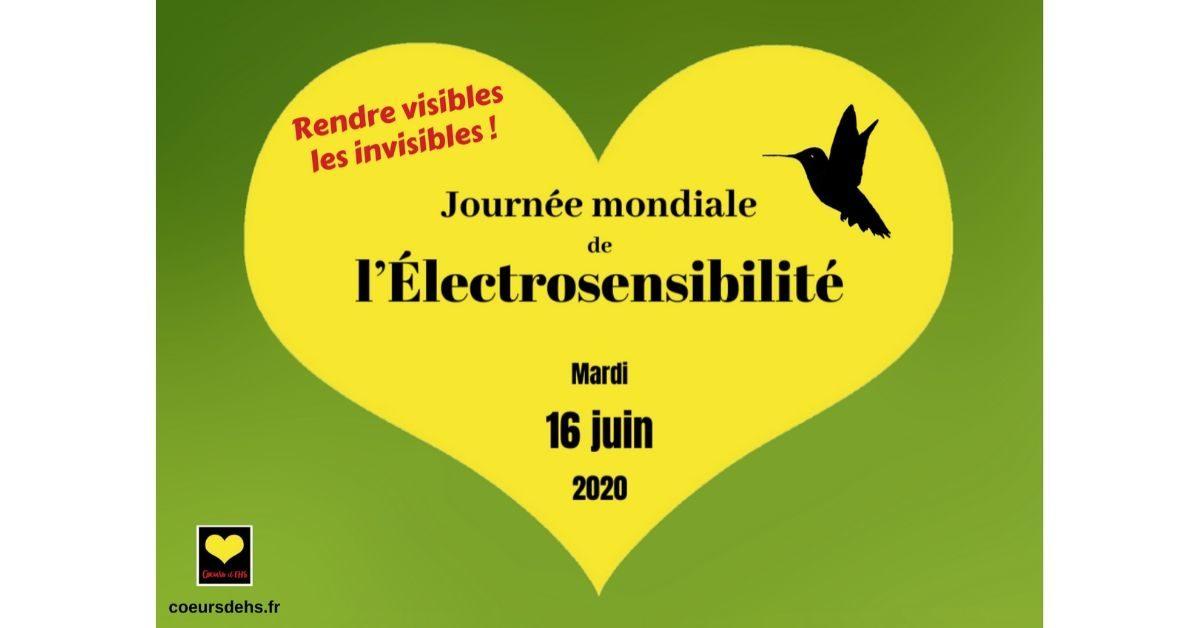 16 juin 2020 : Journée mondiale de l'Électrosensibilité