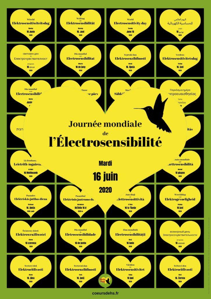 Coeurs d'EHS - Journée mondiale de l'Electrosensibilité 2020