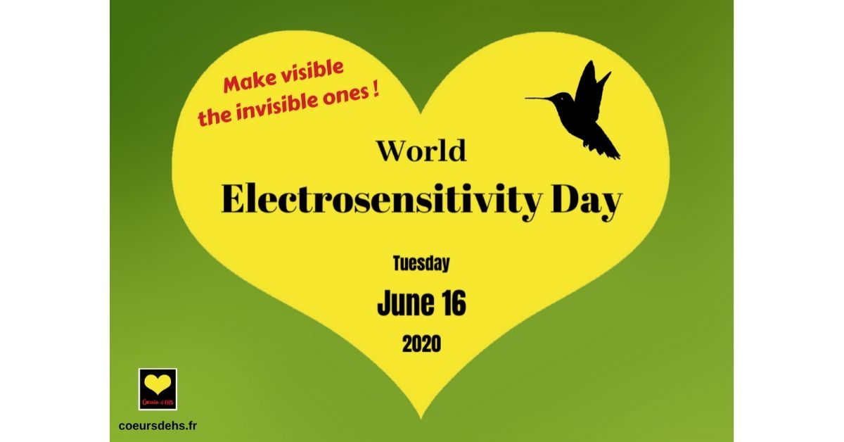June 16, 2020: World Electrosensitivity Day